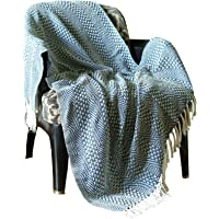 RAJRANG Blanket Throw Vintage Soft & Warm Blanket for Sofa 50 X 60 Couch Cover for Room Decore