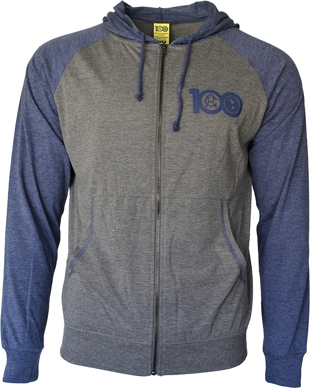 Icon Sport Club America Hoodie Soccer Lightweight Fz Summer Light Zip up Jacket Grey Adults