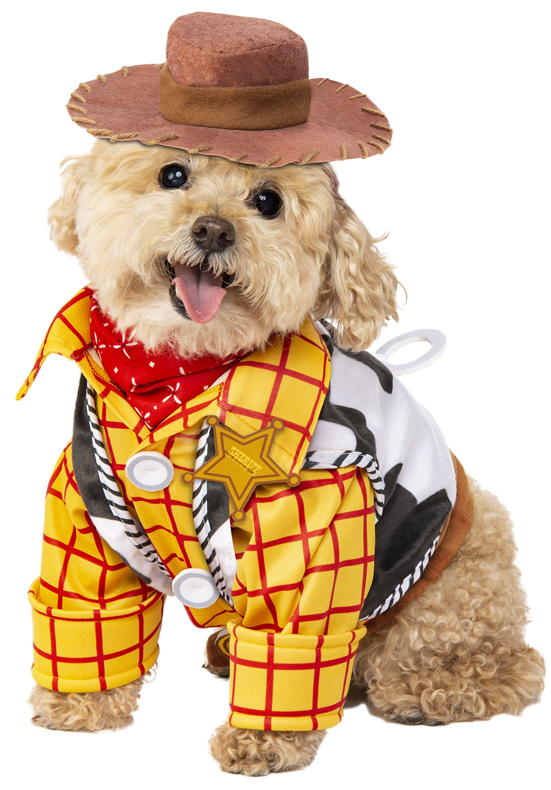 Rubie's Disney: Toy Story Pet Costume, Woody, Large