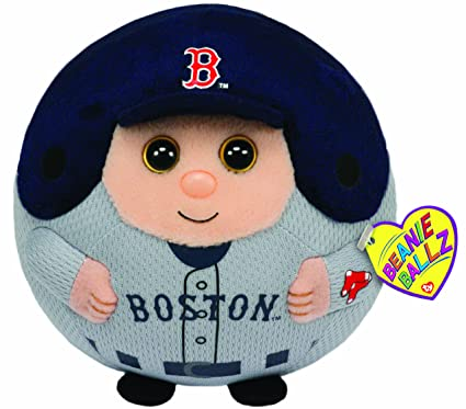 Image Unavailable. Image not available for. Color  Ty Beanie Ballz MLB  Boston Red Sox Large Plush 3befa7effc42
