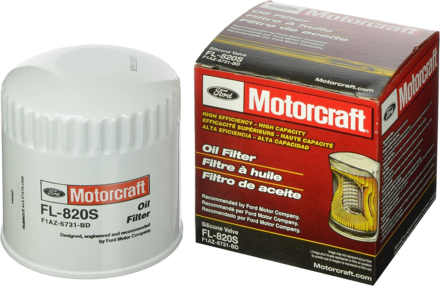 Motorcraft FL Car Oil Filter