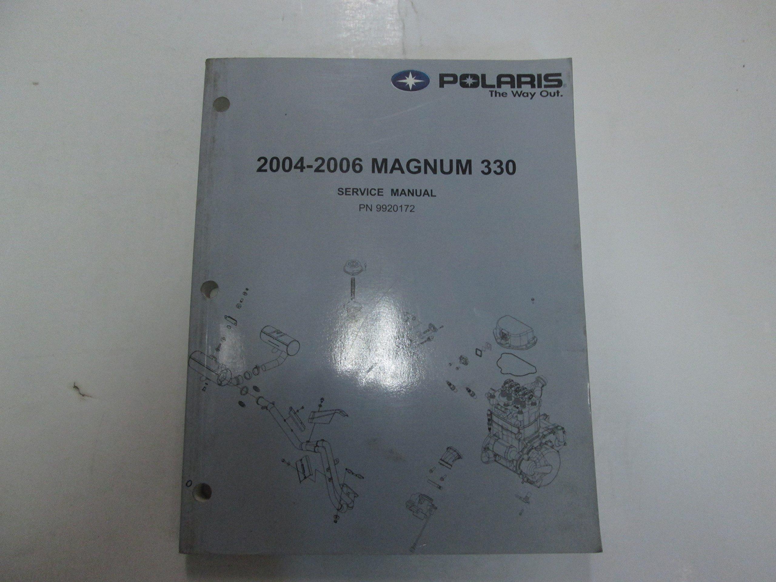2004 2005 2006 polaris magnum 330 shop repair service manual factory rh amazon com 2005 polaris magnum 330 repair manual 2005 polaris magnum 330 repair manual