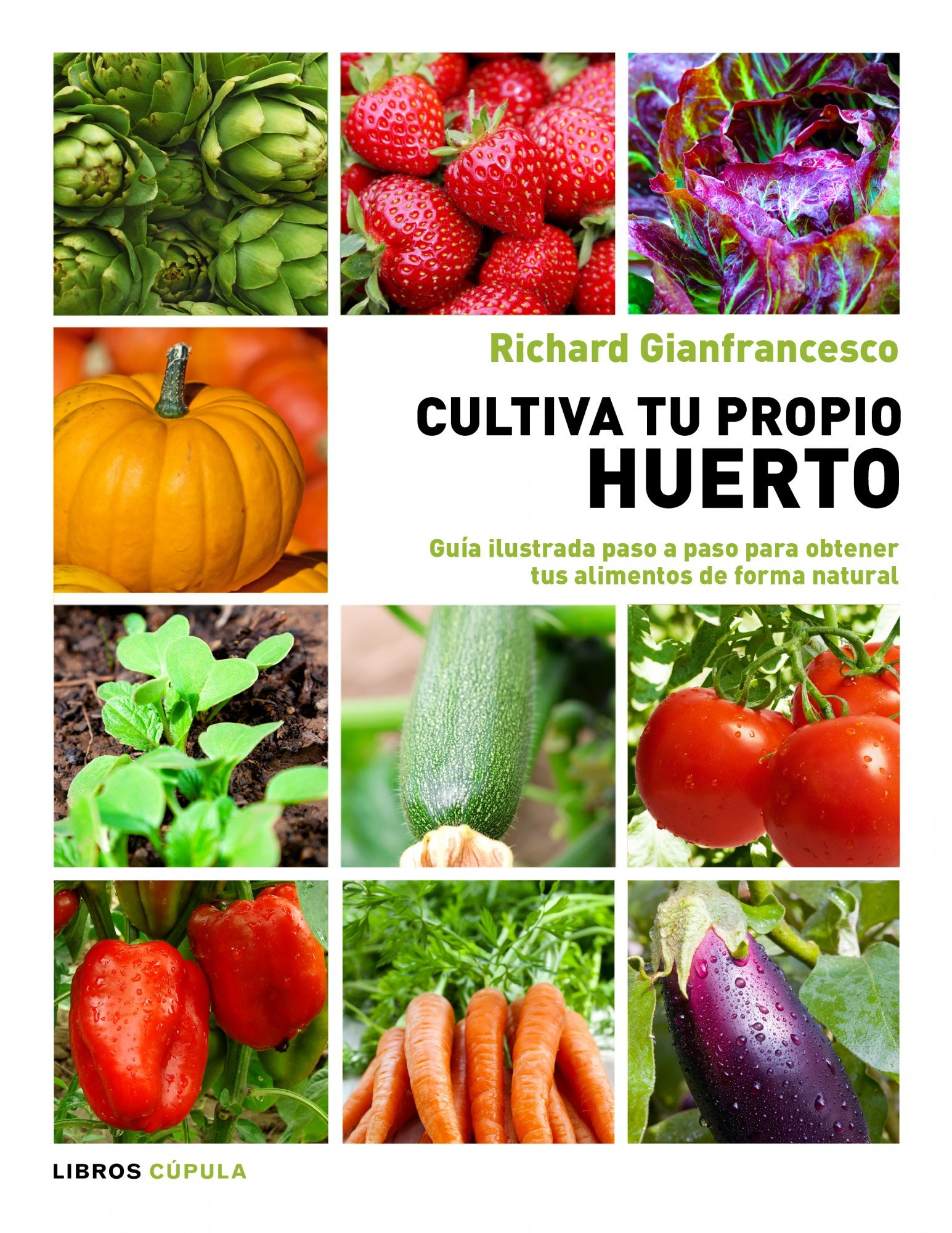 Cultiva tu propio huerto: Guía ilustrada paso a paso para obtener ...