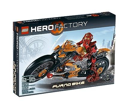 Amazoncom Lego Hero Factory Furno Bike 7158 Toys Games
