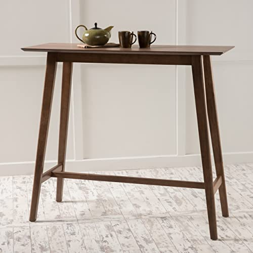 Christopher Knight Home 298973 Moria Bar Table, Natural Walnut