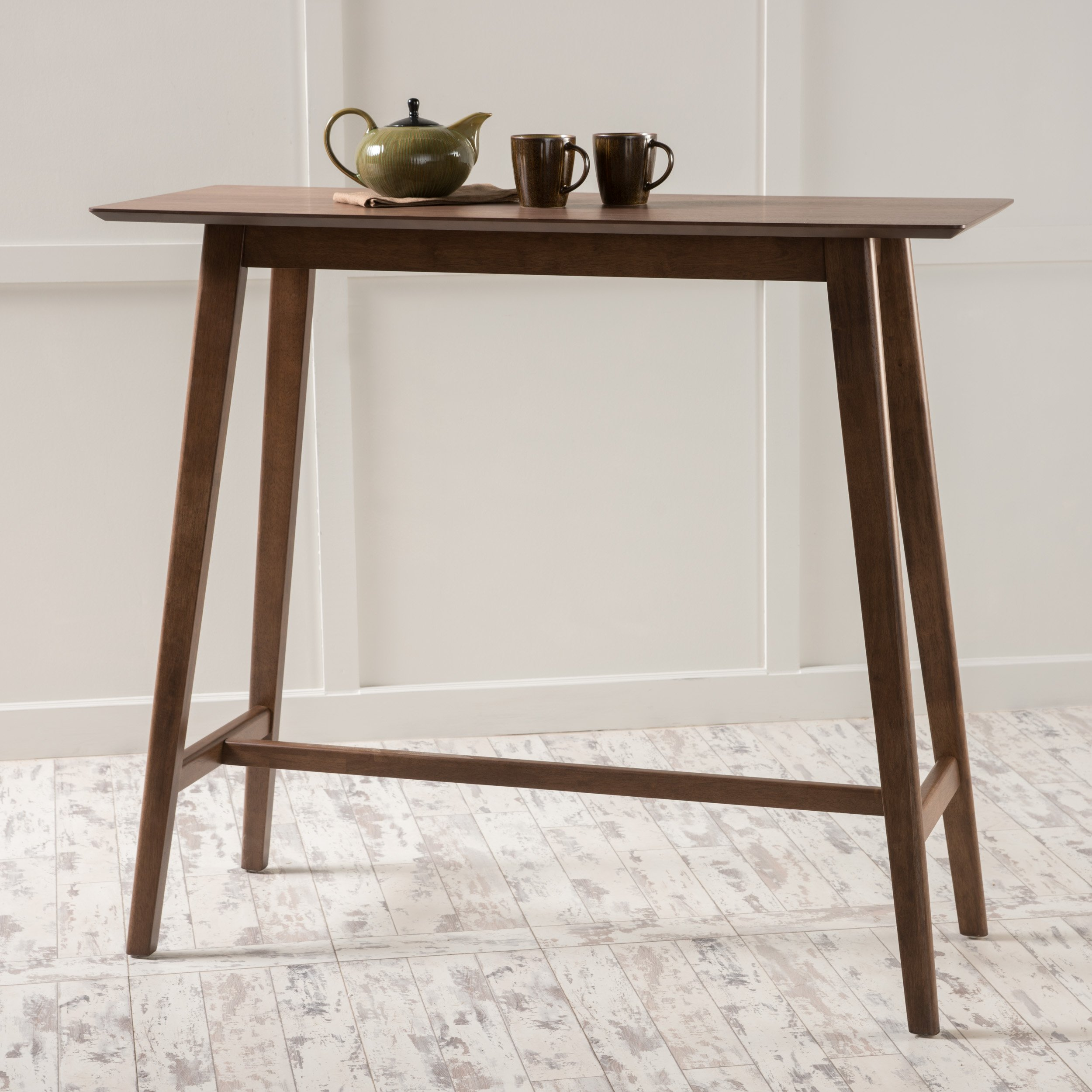 Christopher Knight Home 298973 Moria Bar Table, Natural Walnut by Christopher Knight Home