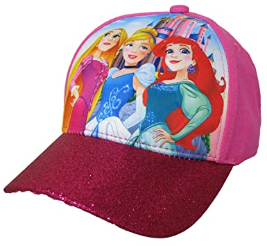 hot pink suede baseball cap princess girls pop size 60 leather polo