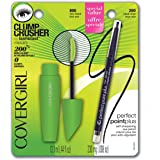 COVERGIRL Clump Crusher by LashBlast Mascara Very Black 800 ( .44 oz) and Perfect Point Plus Eye Pencil ( .008) Value Pack