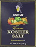 Morton Coarse Kosher Salt 1.36kg