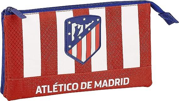 Club Atlético de Madrid Estuche, Niños, Roja, 22 cm: Amazon.es: Ropa y accesorios