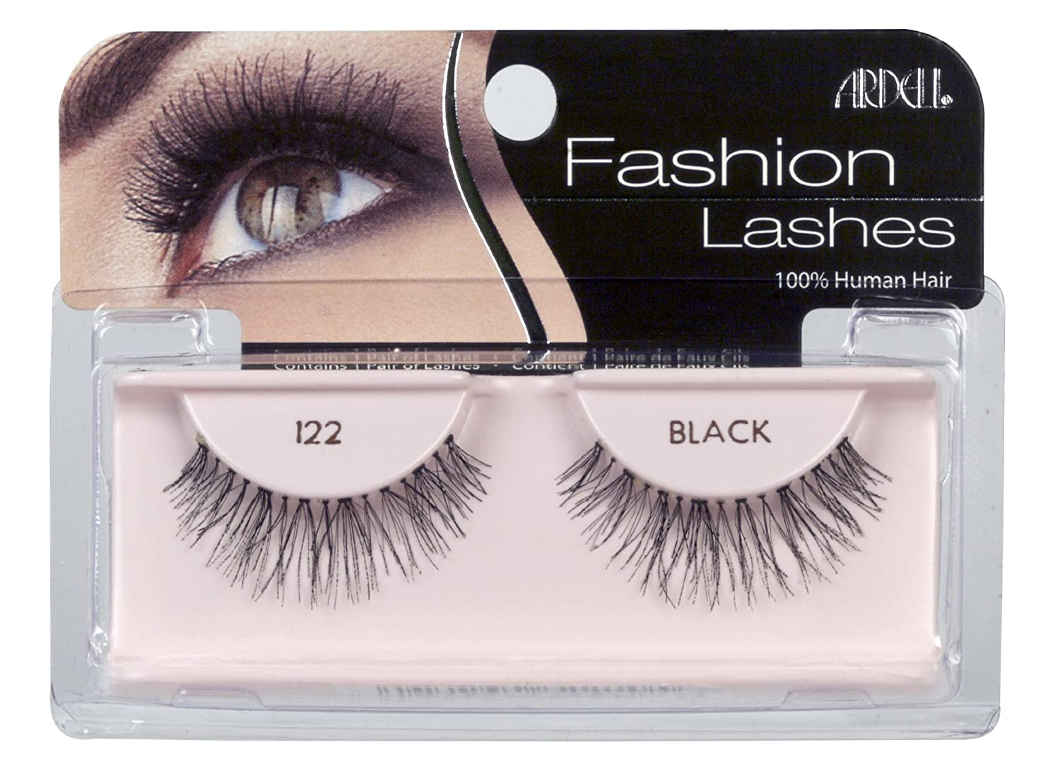 53a6ec7f639 Amazon.com : Ardell Fashion Lashes Pair - 122 (Pack of 4) : Fake ...