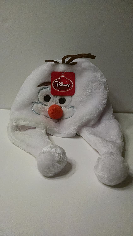 Disney Frozen Olafペルースタイル雪だるま帽子with Hanging Snowballs B01AF5T40G