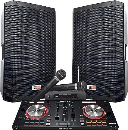 Amazon.com: El sistema Serato DJ 4000 WATTS! - Altavoces con ...