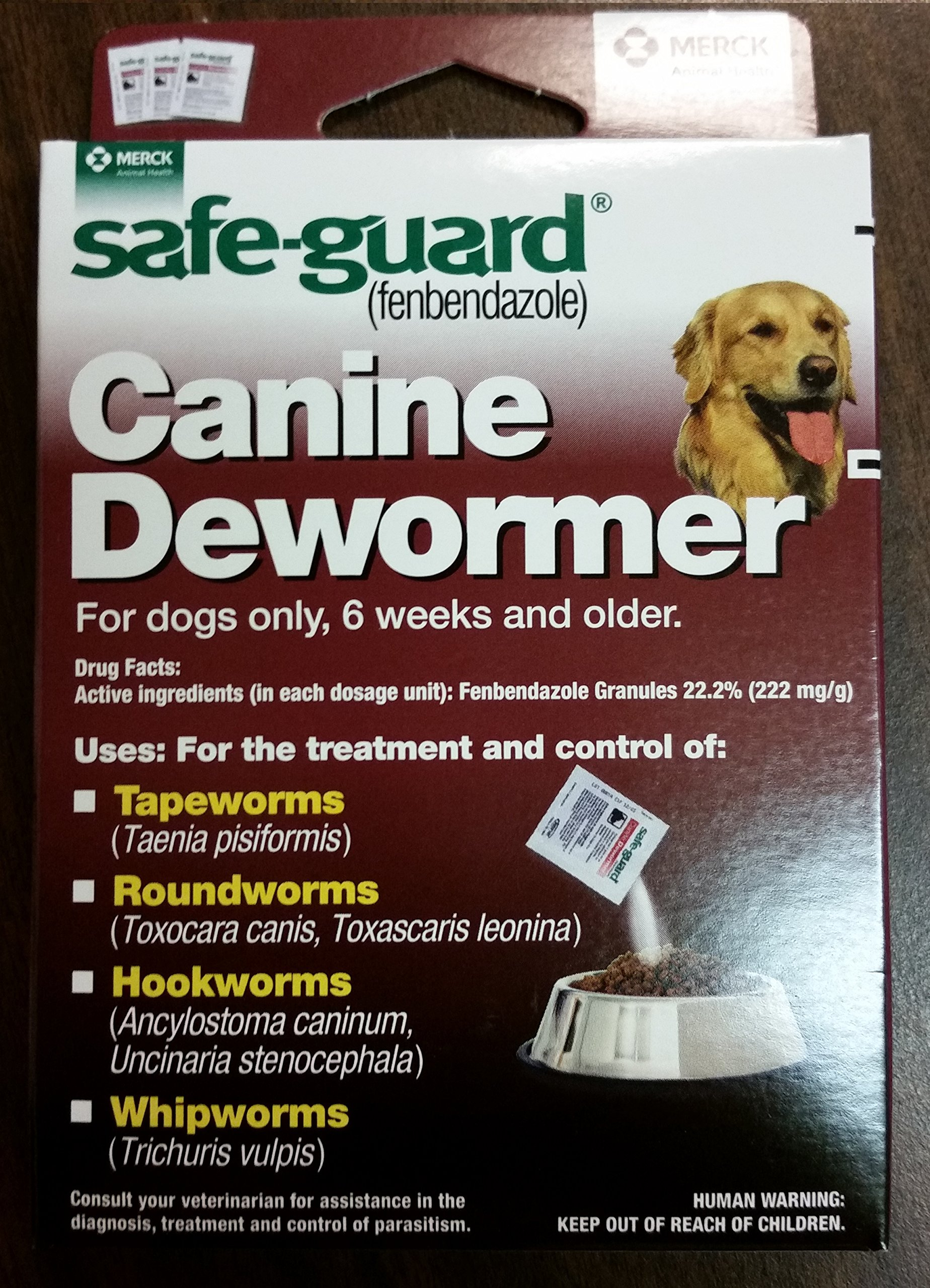 8in1 Safe Guard Canine Dewormer for Large Dogs, 4-Gram (Pack of 2) by Eight in One (8 in 1)