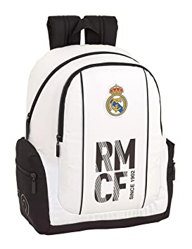 Real madrid cf Mochila Grande Adaptable a Carro, niño.: Amazon.es: Equipaje