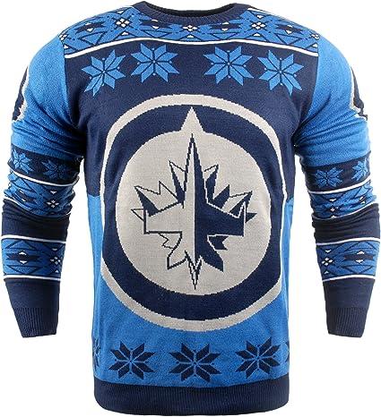 NHL Big Logo Ugly Crew Neck Sweater
