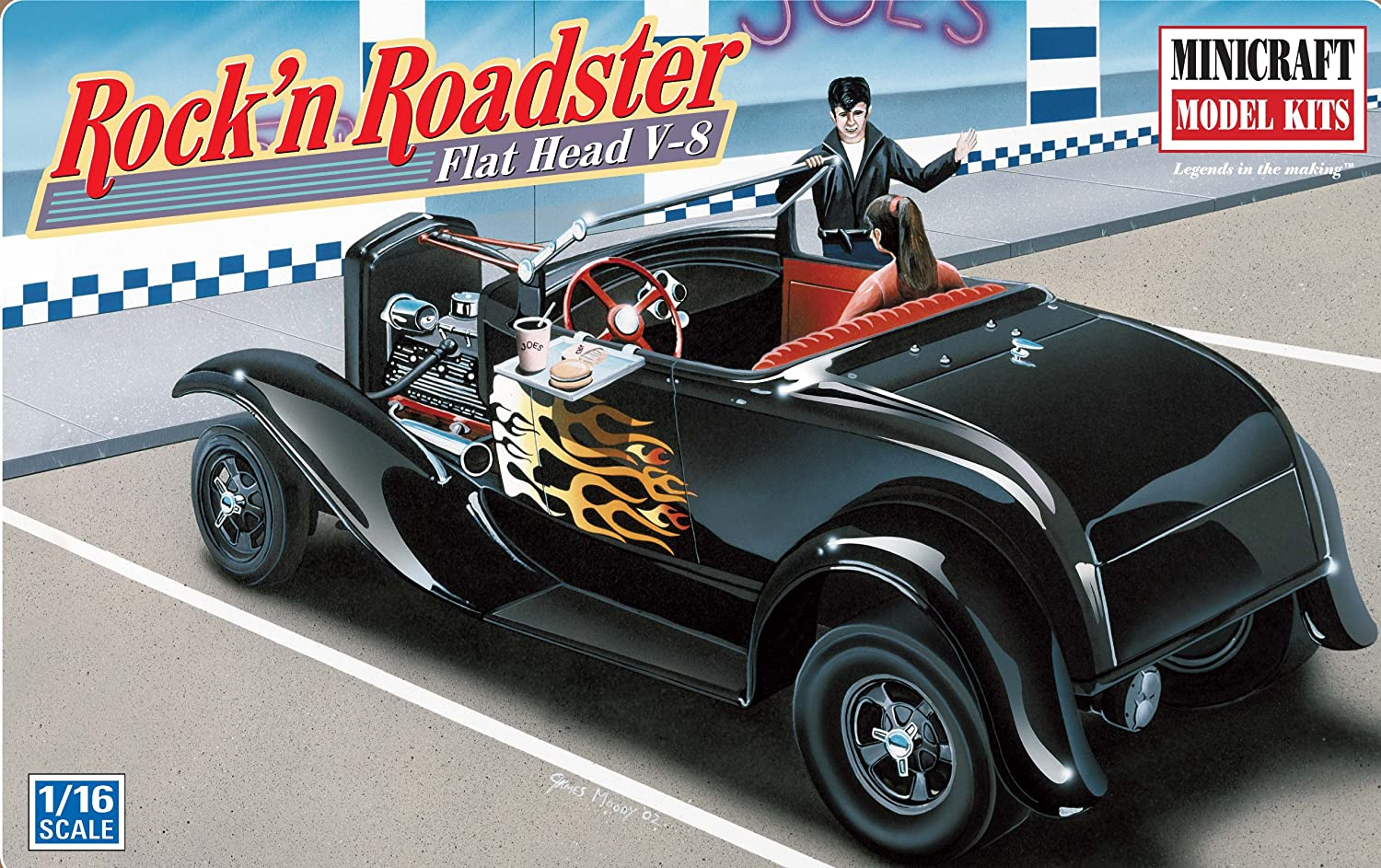 Amazon.com: Minicraft Models 1931 Rock N Roadster 1/16 Scale: Toys ...