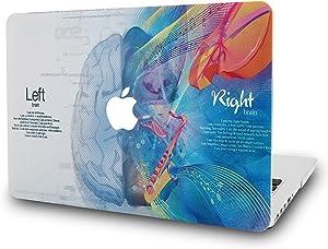 "KECC Laptop Case for MacBook Pro 13"" (2020/2019/2018/2017/2016) Plastic Hard Shell Cover A2289/A2251/A2159/A1989/A1706/A1708 Touch Bar (Brain 3)"