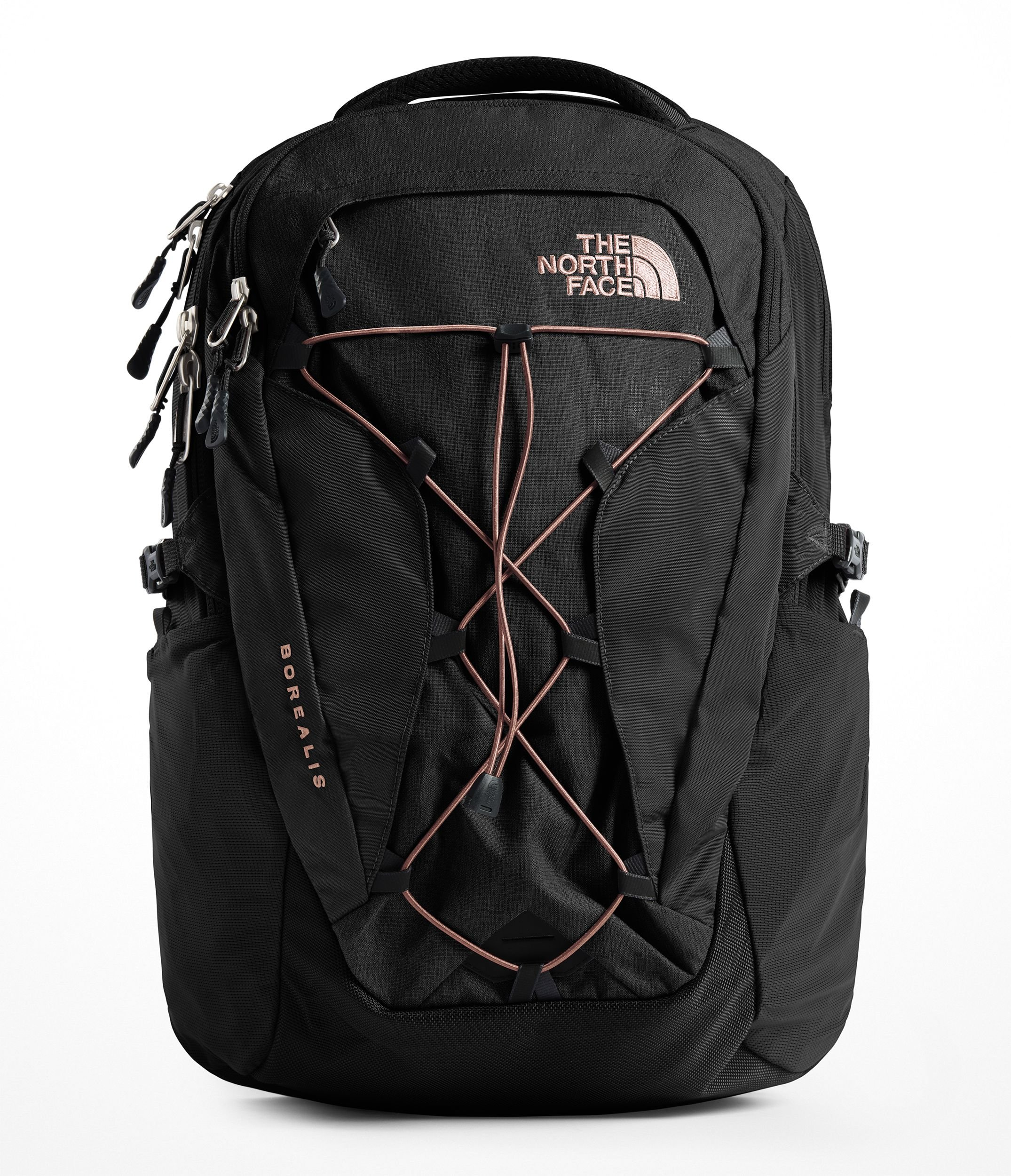 The North Face Women's Borealis Backpack - TNF Black & Misty Rose - OS