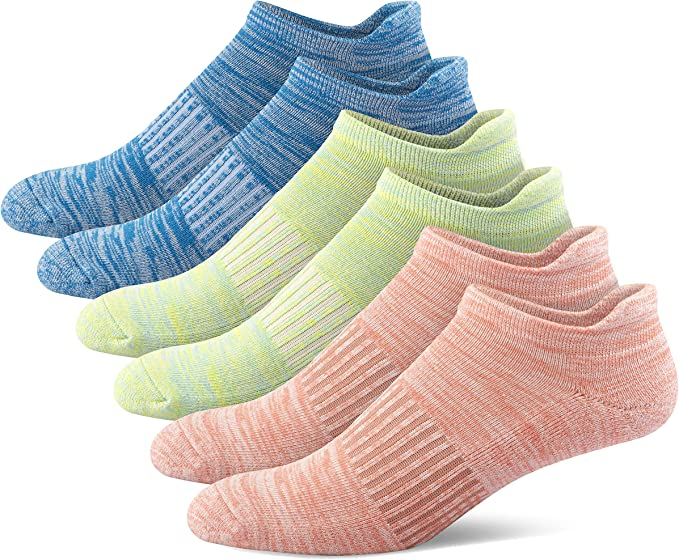 Athletic Ankle Socks with Heel Tab