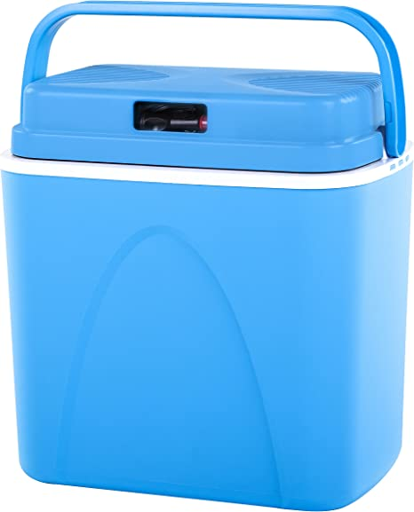 Connabride CB22 - Nevera termoeléctrica (12 V, 22 L), Color Azul