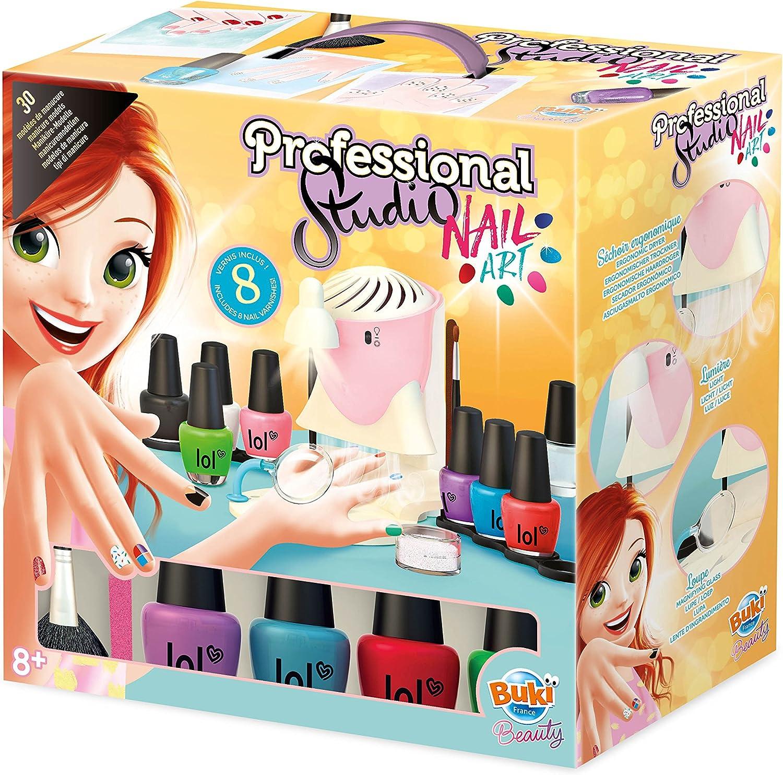 Buki France- Professional Studio Nail Art Juego Salón de Manicura, Multicolor (5404)