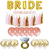 Bachelorette Party Decorations Pack Includes: Gold
