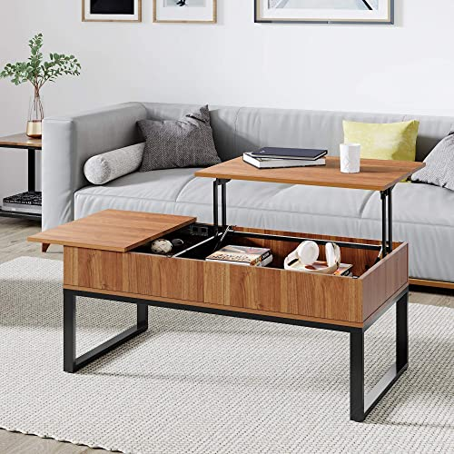 WLIVE Wood Lift Top Coffee Table