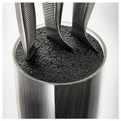 "Ikea Cuchillos ""IKEA 365 + 13 x 24 cm en negro con posavasos"