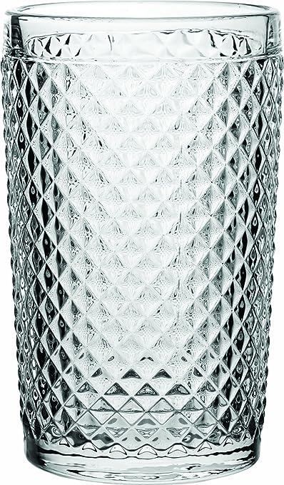 Utopía GM106 Dante, de cristal vasos altos 390 ml (Pack de 6): Amazon.es: Industria, empresas y ciencia