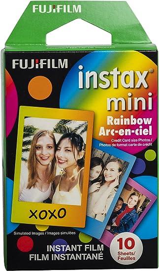 carte du ciel instantanée Amazon.: Fujifilm Instax Mini Rainbow Film   10 Exposures