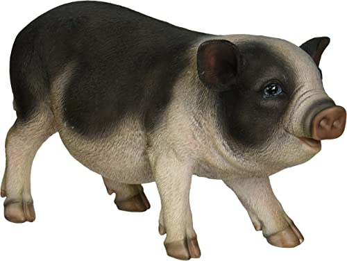 Hi-Line Gift Ltd Pot Belly Pig Garden Statue