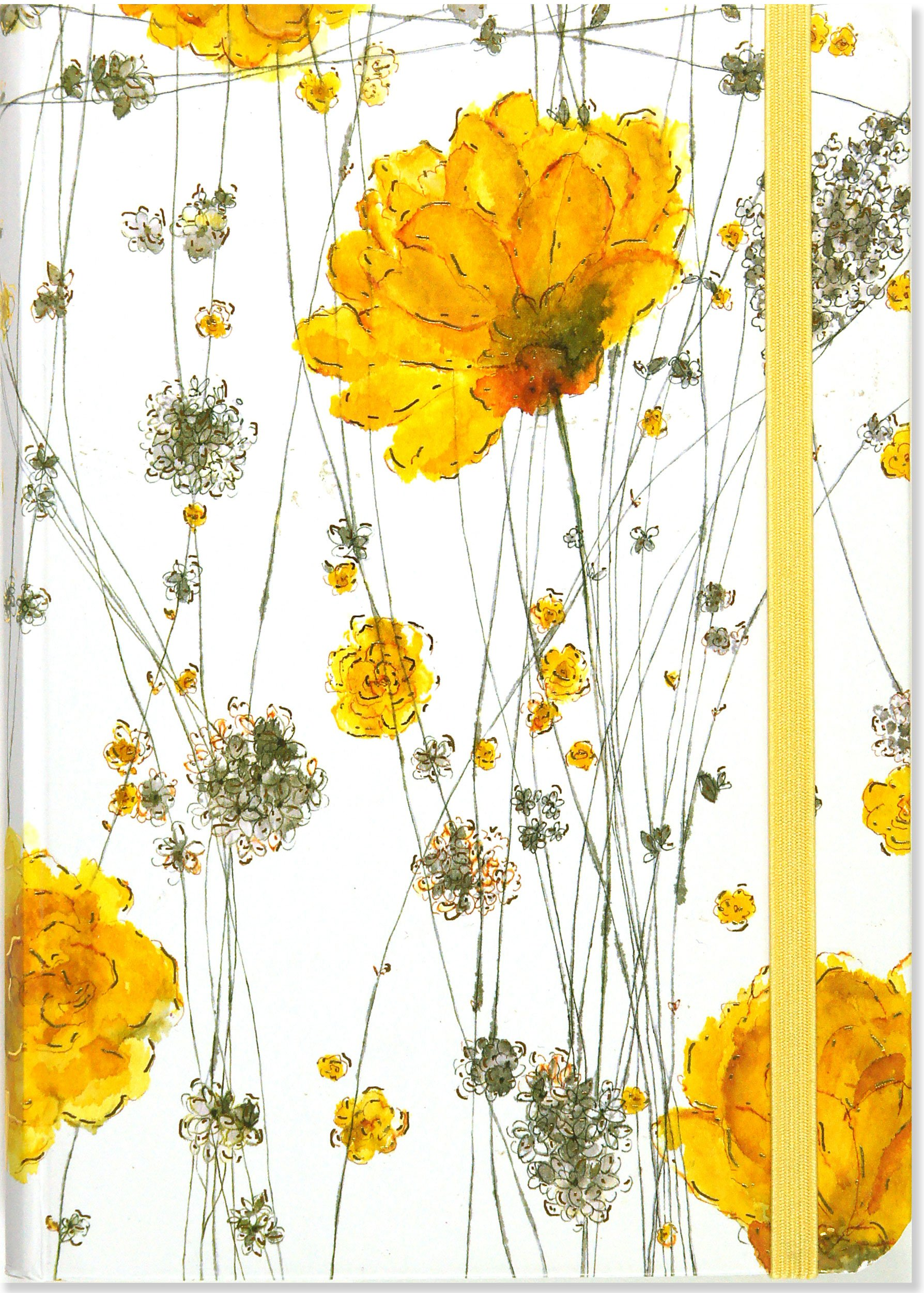 Yellow flowers journal notebook diary small format journals yellow flowers journal notebook diary small format journals peter pauper staff 9781593594855 amazon books mightylinksfo