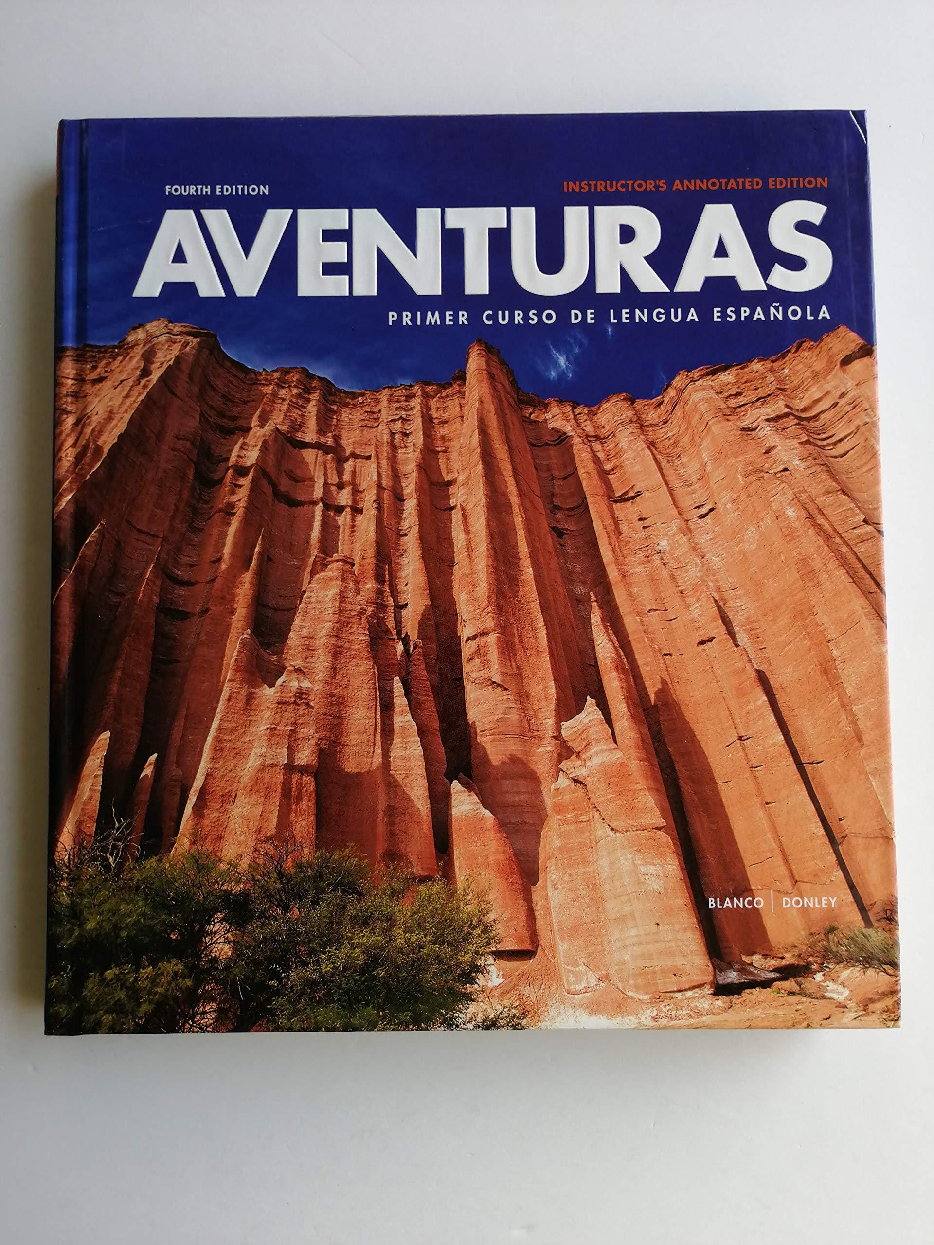 Aventuras 4th Edition Vhl 9781618570550 Amazon Com Books