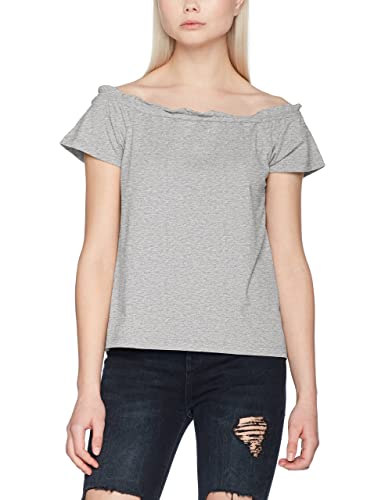 Vero Moda Vmenjoy Off Shoulder Top Mix Ga Jrs a, Camiseta sin Mangas para Mujer