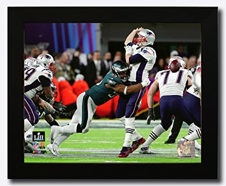 7fd996a3bbc Philadelphia Eagles Brandon Graham Strips The Ball During Super Bowl 52  8x10 Framed Photo, Picture