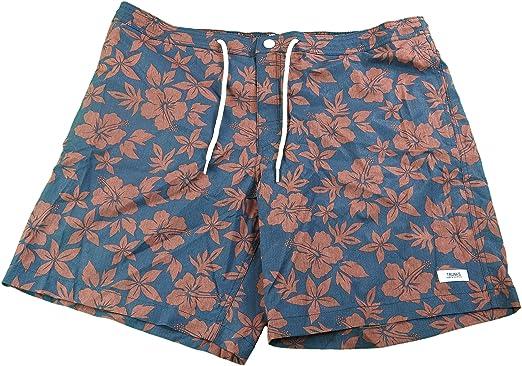 e4d963f88d Trunks Surf & Swim Co. Men's Beach Street Quick Dry Swim Trunks Navy Floral  (