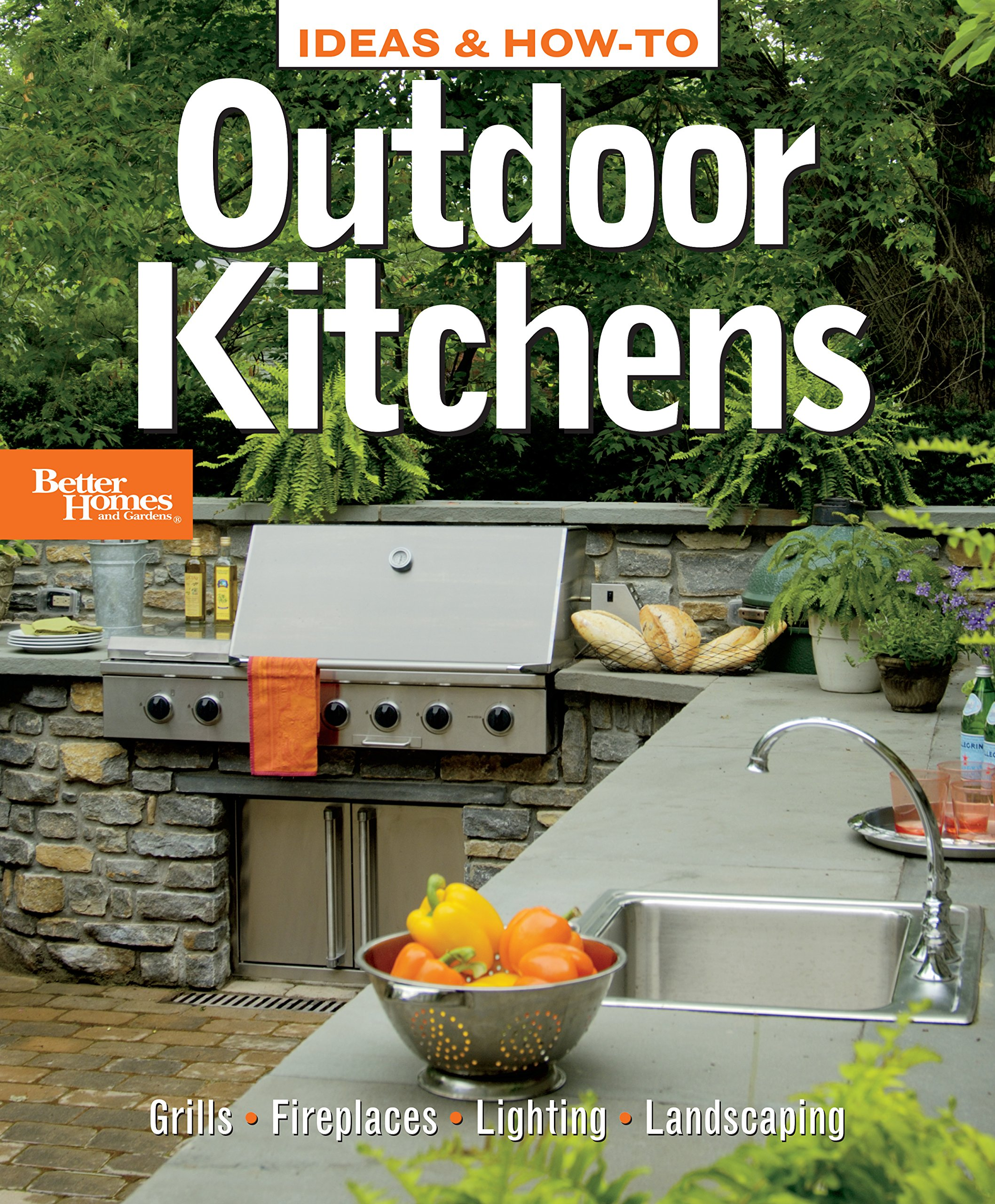 ideas how to outdoor kitchens better homes and gardens better homes and gardens home better homes and gardens 0014005235435 amazoncom books - Homes And Gardens Kitchens