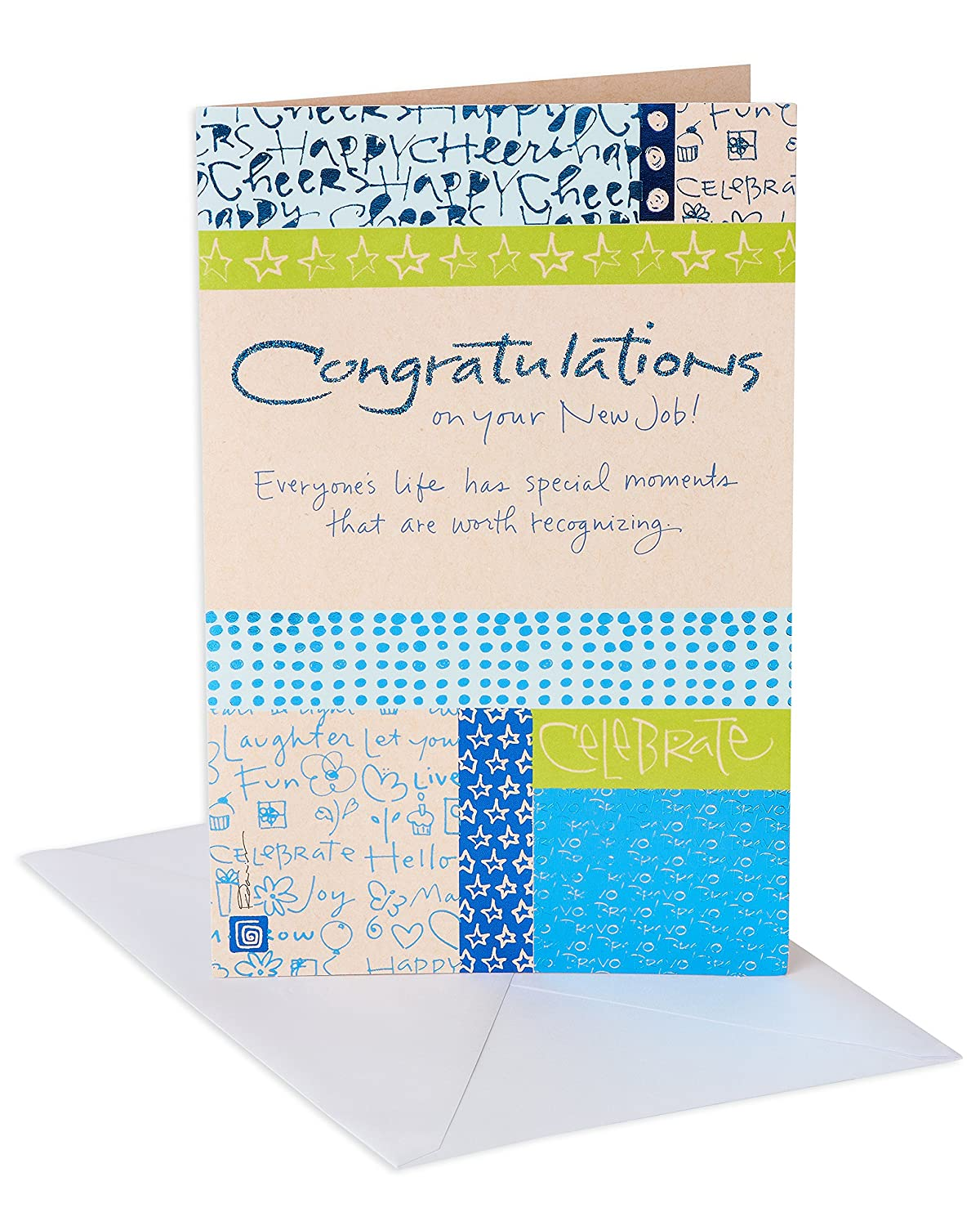 Amazon American Greetings Your Moment New Job Congratulations