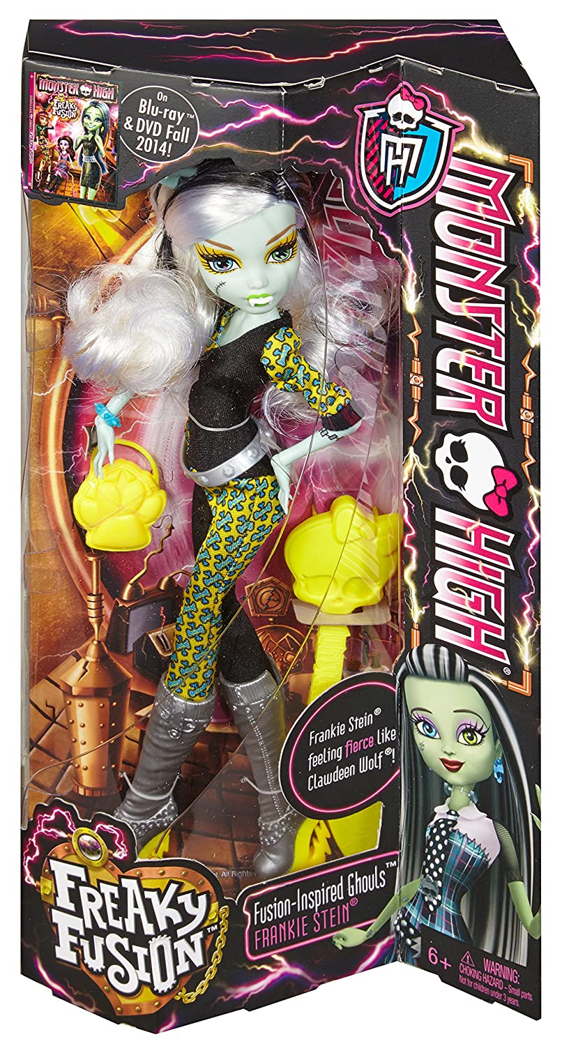 Amazoncom monster high freaky fusion frankie stein doll toys u games with deco chambre monster high - Deco chambre monster high ...