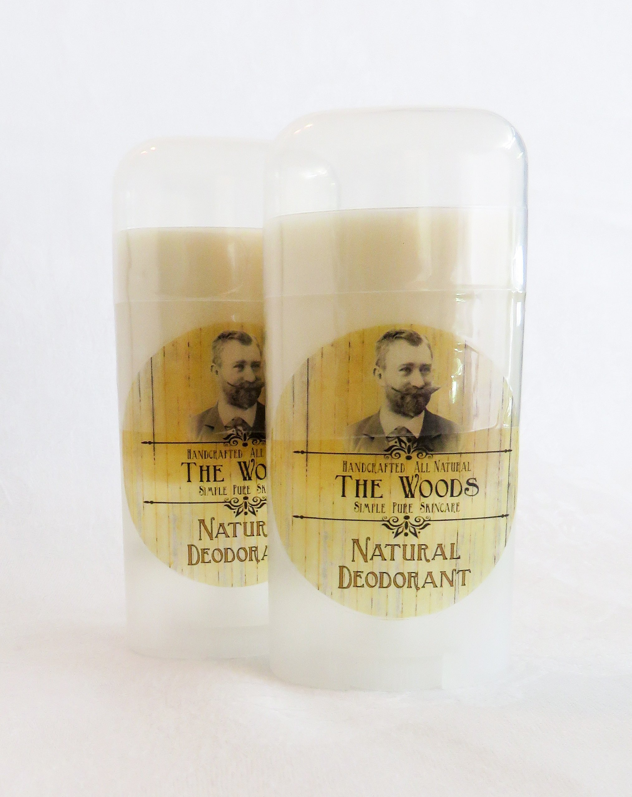 The Woods Sandalwood Natural Deodorant by Summer's Skin