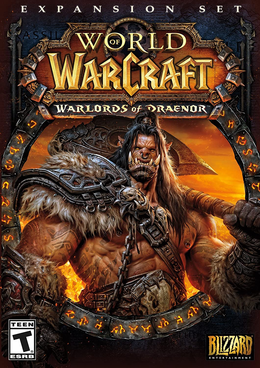 amazon com world of warcraft warlords of draenor expansion pc