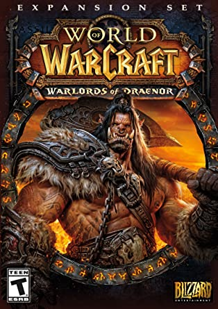 amazon world of warcraft warlords of draenor expansion 輸入版