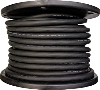 product image for Cerrowire 282-1003G1 250-Feet 18/3 SJOOW Rubber Flexible Cord, Black