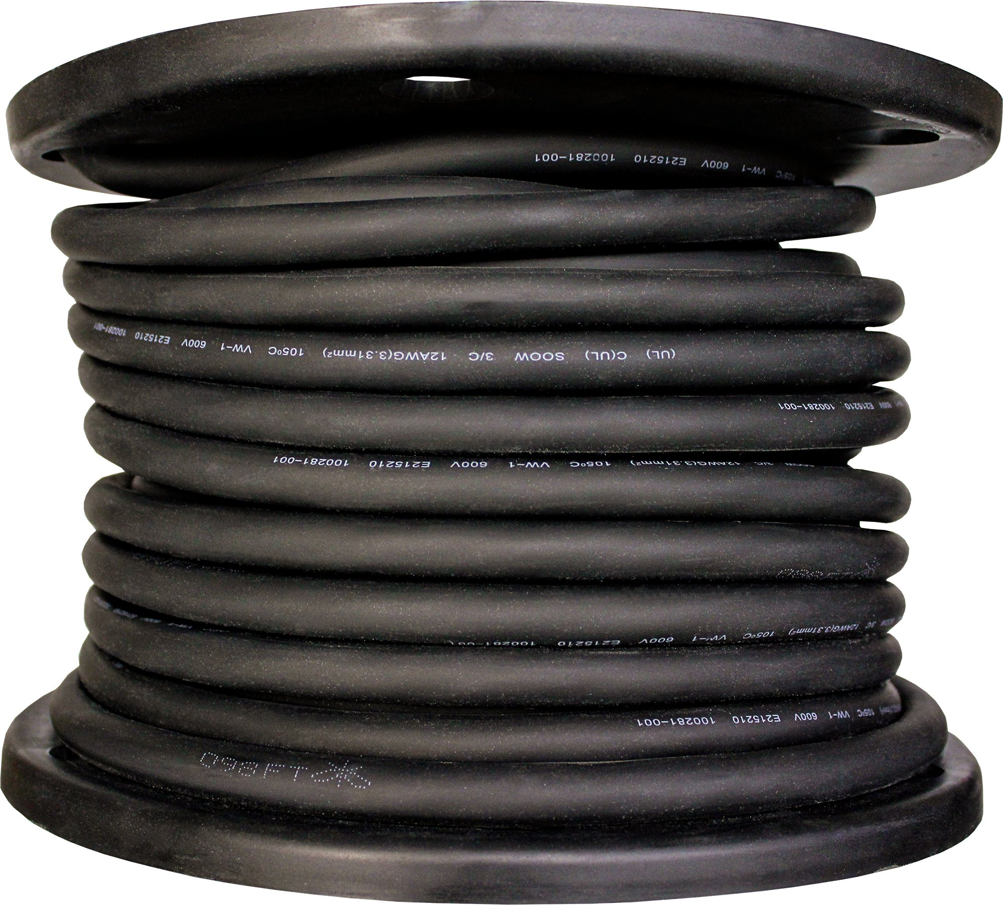 Cerrowire 283-3804E 150-Feet 10/4 SOOW Rubber Flexible Extra Heavy Duty Cord, Black