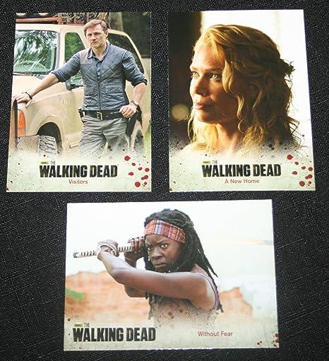 The Walking Dead Season 3 Part 2 Complete 72 Card Base Set