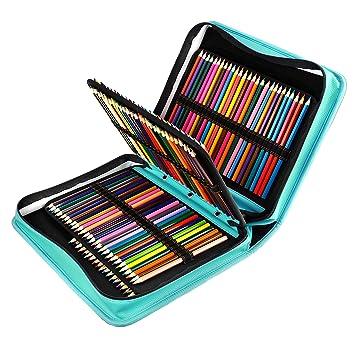 YOUSHARES - Estuche para lápices de colores 180 ranuras