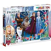 Clementoni - 20611 - Supercolor puzzle 3 Boyutlu (3D) Disney Frozen 2 - çocuk puzzle, 6 - 8 yaş