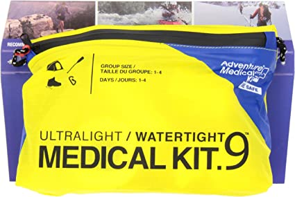 NEW Adventure Medical Kits AMK Ultralight /& DryFlex Watertight .5 First Aid Kit