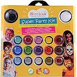 Grimtout - GT41637 - Coffret de maquillage  Super Party Kit pour Princesses et Héros